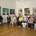 Dwie wizyty w Zamojskiej Galerii BWA