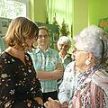 Przedstawicielka Fundacji EVZ z Berlina w Zamojskim Centrum Wolontariatu - 1
