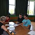 Wolontariusze EVS pracują z seniorami